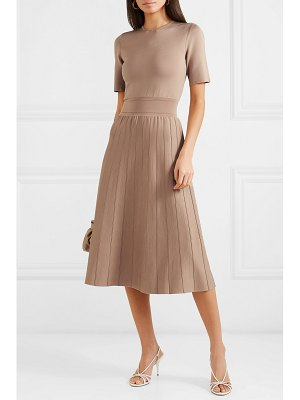 CASASOLA stretch-knit midi dress