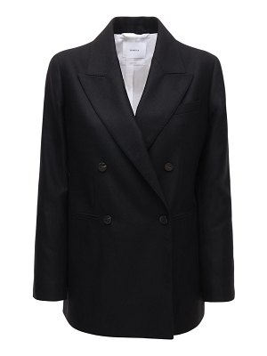 CASASOLA Wool & silk double breast blazer