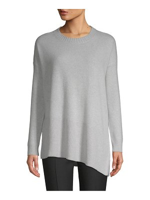 Cashmere Saks Fifth Avenue Asymmetrical Cashmere Sweater
