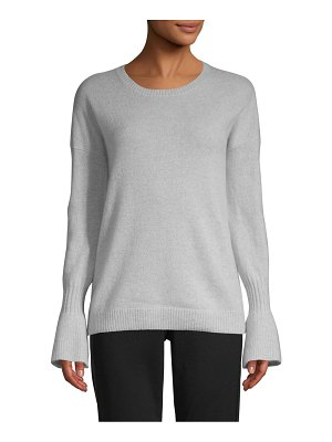Cashmere Saks Fifth Avenue Bell-Sleeve Cashmere Sweater