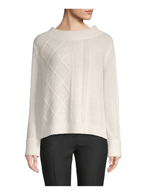 Cashmere Saks Fifth Avenue Boatneck Cashmere Sweater