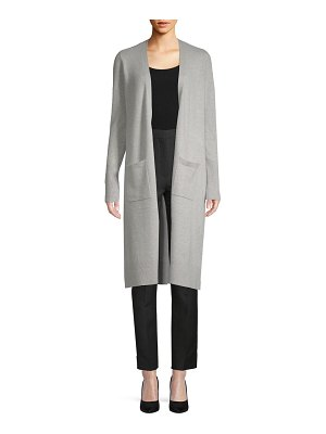 Cashmere Saks Fifth Avenue Cashmere Duster Cardigan