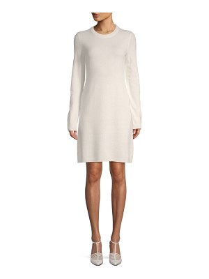 Cashmere Saks Fifth Avenue Cashmere Shift Sweater Dress