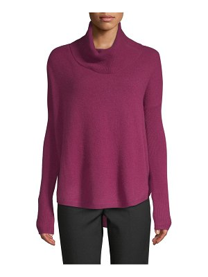 Cashmere Saks Fifth Avenue Cowlneck Cashmere Sweater