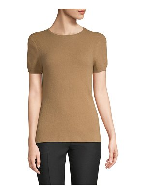 Cashmere Saks Fifth Avenue Drop Shoulder Cashmere Tee