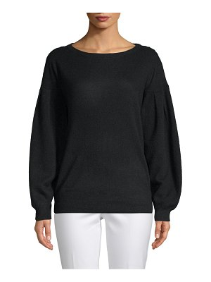 Cashmere Saks Fifth Avenue Long-Sleeve Cashmere Sweater
