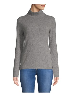 Cashmere Saks Fifth Avenue Mockneck Cashmere Sweater