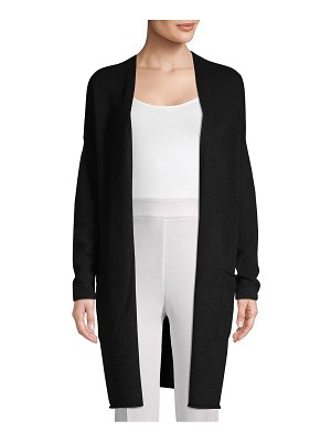 Cashmere Saks Fifth Avenue Open-Front Cashmere Cardigan
