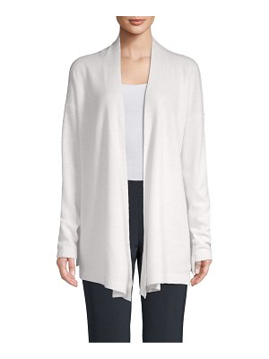 Cashmere Saks Fifth Avenue Open Front Cashmere Cardigan