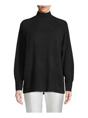 Cashmere Saks Fifth Avenue Relaxed Turtleneck Sweater