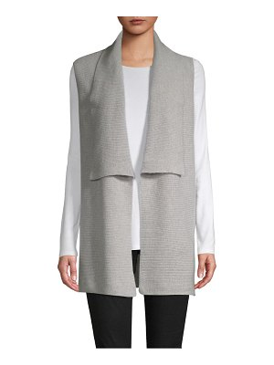Cashmere Saks Fifth Avenue Rib-Knit Cashmere Cardigan