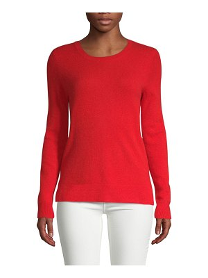 Cashmere Saks Fifth Avenue Rib-Knit Cashmere Sweater