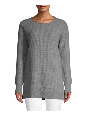 Cashmere Saks Fifth Avenue Textured Knit Cashmere Pullover