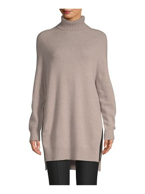 Cashmere Saks Fifth Avenue Turtleneck Cashmere Tunic