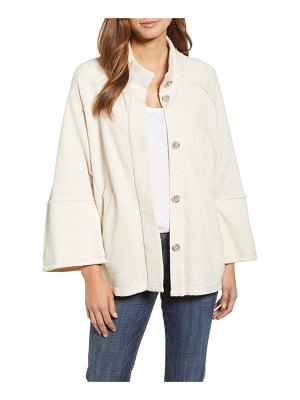 Caslon calson french terry swing jacket