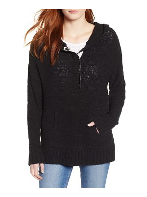 Caslon caslon beachy hooded knit sweater