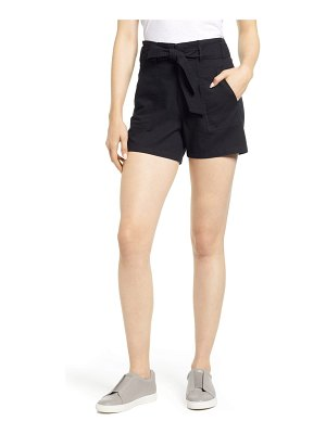 Caslon caslon belted twill shorts