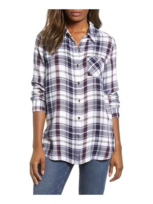 Caslon caslon checkered button down shirt