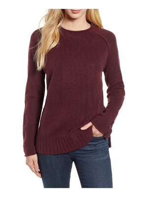 Caslon caslon cozy crewneck sweater