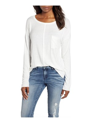 Caslon caslon cozy pocket top