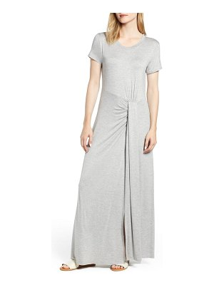 Caslon caslon front gathered maxi dress