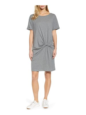 Caslon caslon knot front t-shirt dress