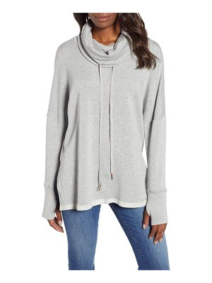 Caslon caslon off-duty funnel neck sweatshirt
