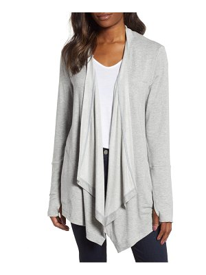 Caslon caslon off-duty open front cardigan