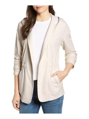 Caslon caslon open front hooded cardigan