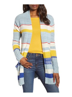 Caslon caslon open front pocket cardigan