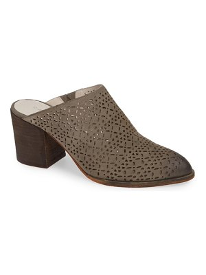 Caslon caslon perforated mule