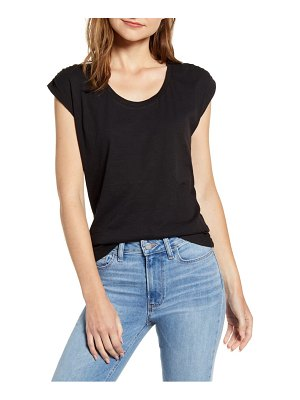 Caslon caslon ruched sleeve tee