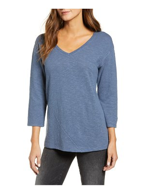 Caslon caslon textured v-neck t-shirt