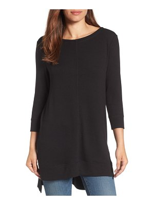 Caslon caslon three quarter sleeve side slit tunic
