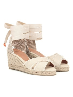 Castaner bluma canvas wedge espadrilles