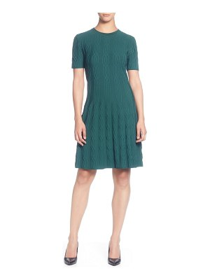 Catherine Catherine Malandrino jacquard sweater dress