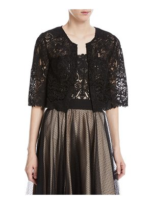 Catherine Deane Kalista Graphic Lace Topper Jacket