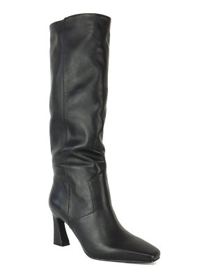 Caverley Candy Slouchy Leather Pull-On Knee Boots