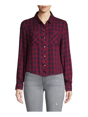 C&C California Plaid Woven Button-Down Shirt