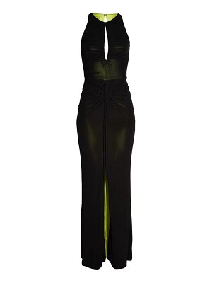 CDGNY BY CD GREENE caitlyn ruched gown