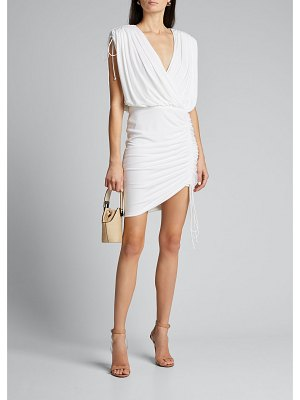 CDGNY Side-Ruched Cocktail Dress