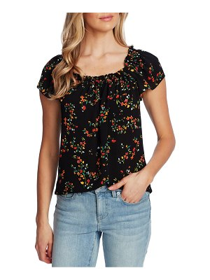 CeCe by Cynthia Steffe blustery buds square neck top