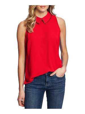 CeCe by Cynthia Steffe collared sleeveless top