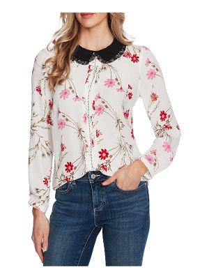 CeCe by Cynthia Steffe enchanted wildflower blouse