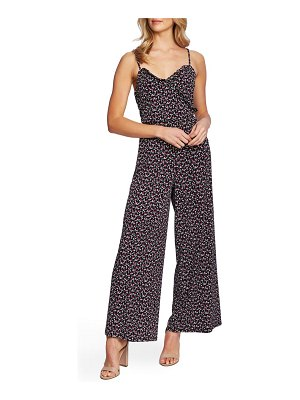 CeCe by Cynthia Steffe marrakesh floral jumpsuit
