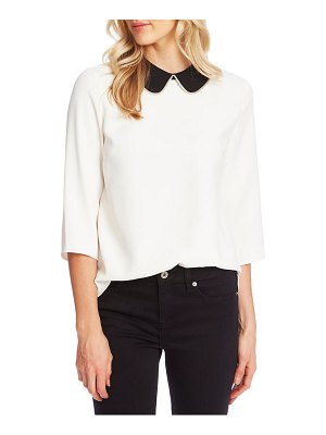CeCe by Cynthia Steffe peter pan collar top