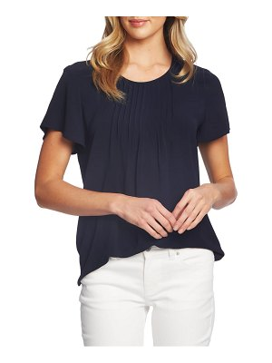 CeCe by Cynthia Steffe pintuck stretch crepe blouse