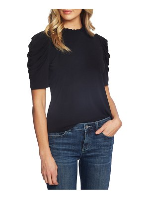 CeCe by Cynthia Steffe puff sleeve crepe top
