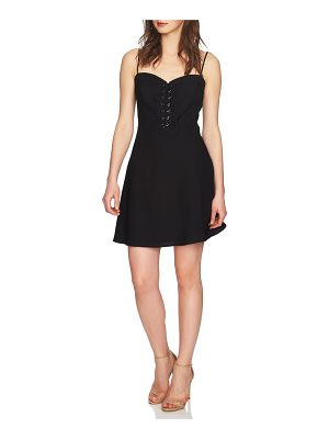CeCe by Cynthia Steffe robin lace-up dress