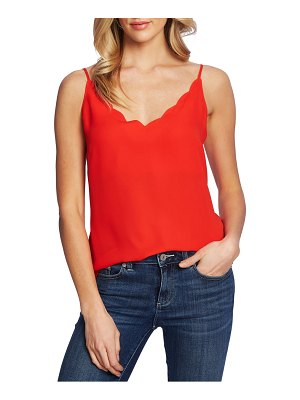 CeCe by Cynthia Steffe scalloped camisole